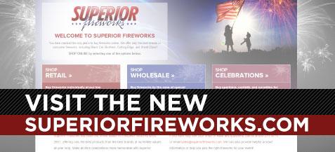 Visit the New SuperiorFireworks.com
