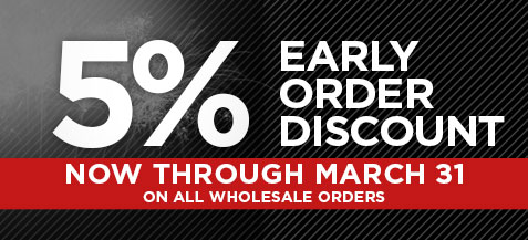 5% Early Order Discount