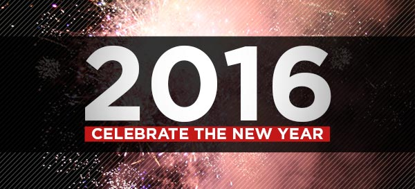 2016 | Celebrate the New Year!