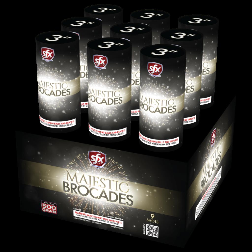 SFX Majestic Brocades, Finale Racks, SFX Fireworks