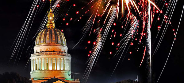 West Virginia Fireworks Celebration