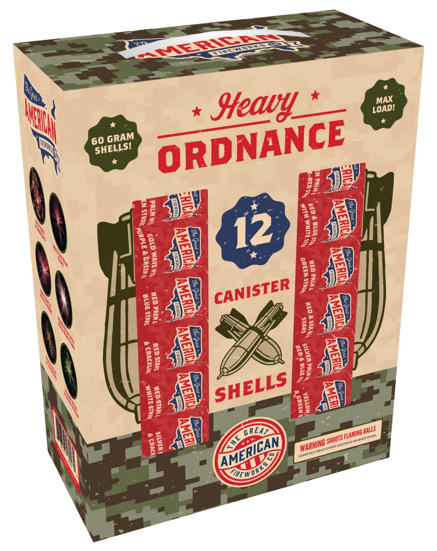 Heavy Ordnance Canister Artillery