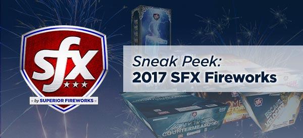 Sneak Peek: 2017 SFX Fireworks