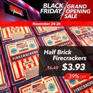 GAFC Half Brick Firecracker