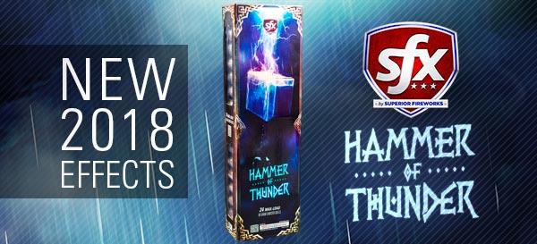 Hammer of Thunder: New Effects for 2018