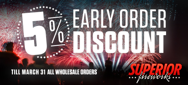 Early Order Discount March