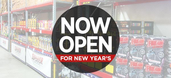 Now Open for New Year's!