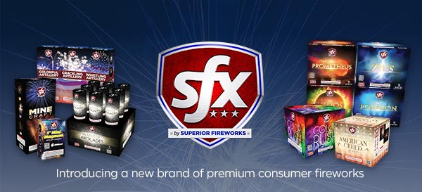 SFX: A new brand of premium consumer fireworks