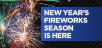 New Year's Fireworks Season Is Here!