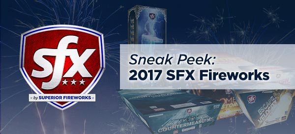 Sneak Peek: 2017 SFX Fireworks