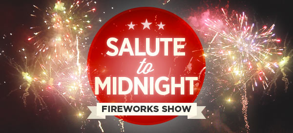 Salute to Midnight Fireworks Show