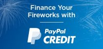 Finance Your Fireworks with PayPal Credit