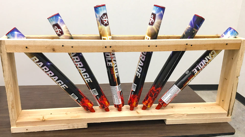 SFX Barrage Candle Rack