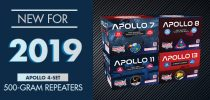New for 2019: Apollo 4-Set