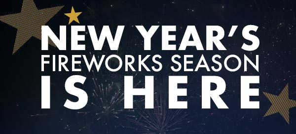 The New Year's Fireworks Season Is Here