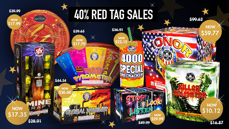 New Year's Red Tag Specials
