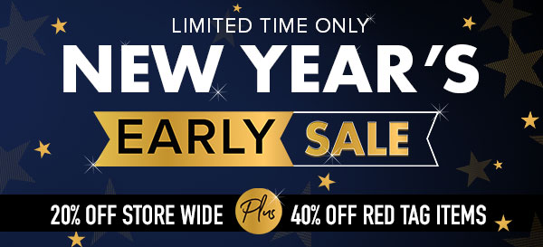 New Year's Early Sale