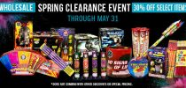 Wholesale Spring Clearance Event
