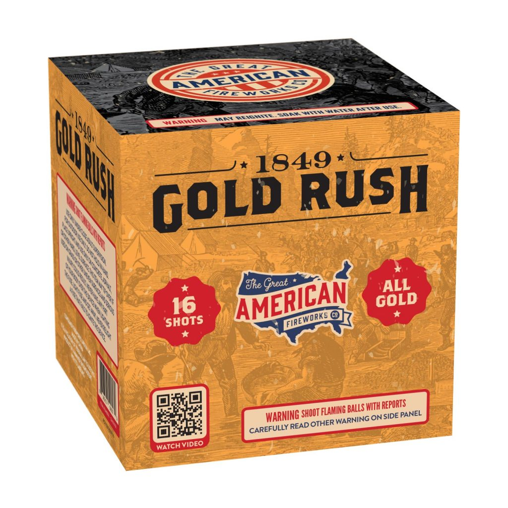 1849 Gold Rush | The Great American Fireworks Co.