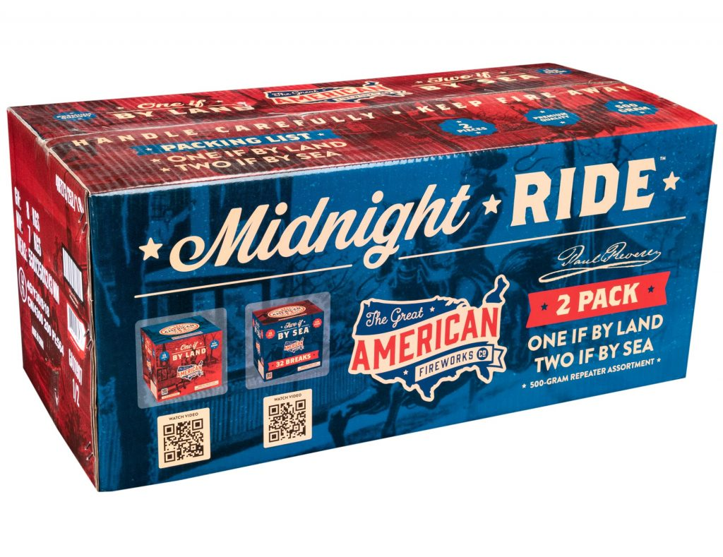 Midnight Ride | The Great American Fireworks Co.
