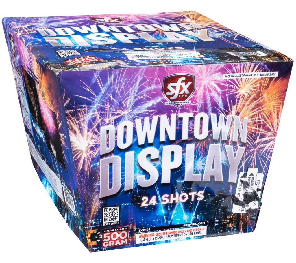 Downtown Display | SFX Fireworks