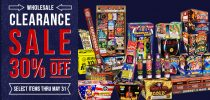 Wholesale Clearance Sale at Superior Fireworks
