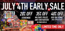 July 4th Early Sale at Superior Fireworks