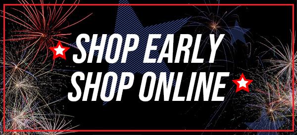 Shop Early, Shop Online at Superior Fireworks
