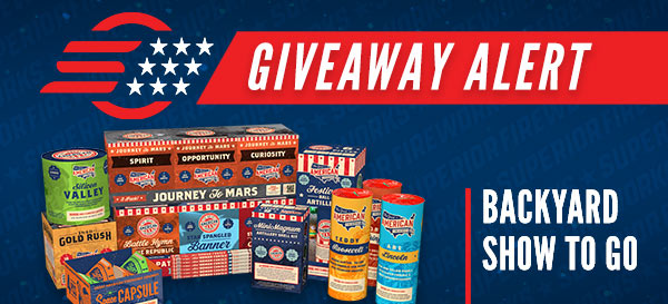 New Year's Facebook Fireworks Giveaway