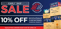 Early Ship Sale at Superior Fireworks