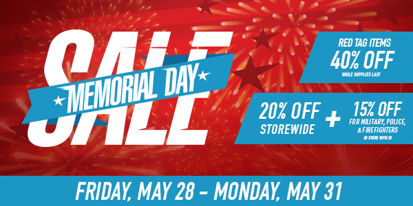 Memorial Day Fireworks Sale