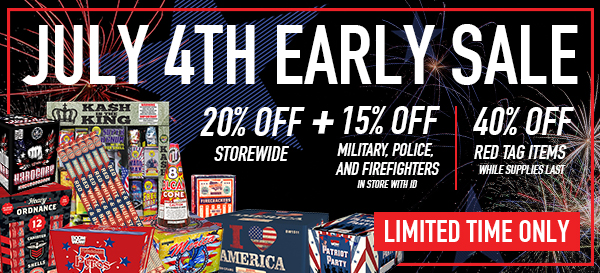 July 4th Early Sale